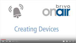 Brivo OnAir Creating Devices